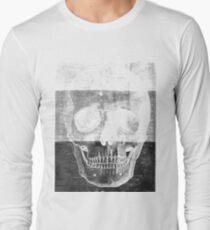Tri-tone skull Long Sleeve T-Shirt
