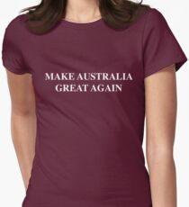 Make Australia Great Again Womens Fitted T-Shirt