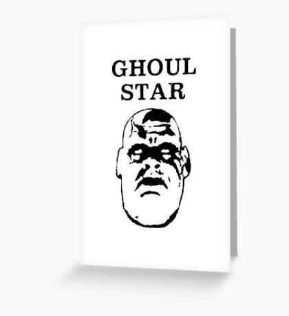 Ghoul Star v.2 Greeting Card