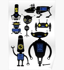 Lots of Robots! Poster
