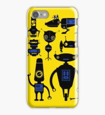 Lots of Robots! iPhone Case/Skin