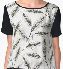 Сereal Field Women's Chiffon Top