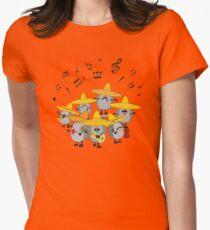 Camiseta entallada para mujer mariachi erizos