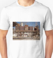 Old Luggage Cart Unisex T-Shirt