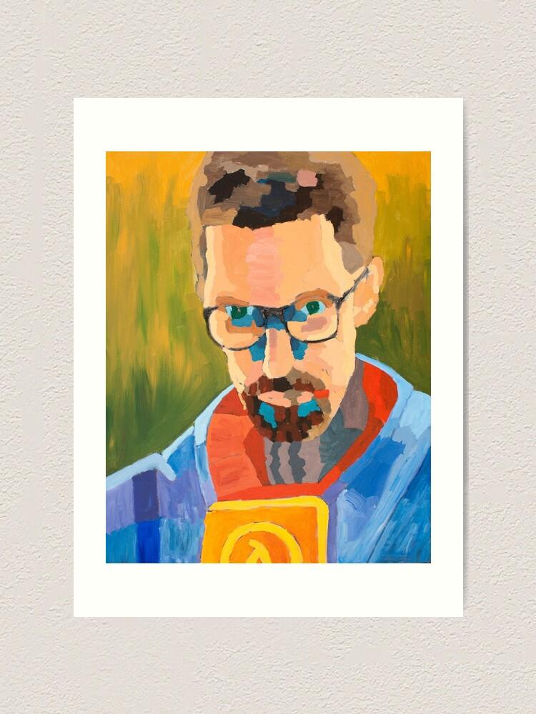 Gordon Freeman Art Print