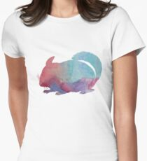 Chinchilla Womens Fitted T-Shirt
