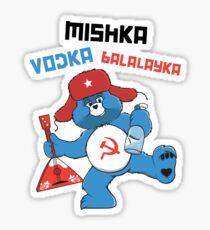 Mishka, Vodka, Balalayka! Sticker