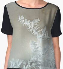 Ice crystals Women's Chiffon Top