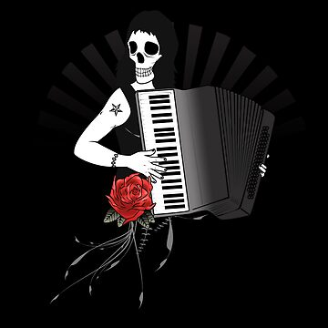 Hell's Accordion Angel by BigFatRobot