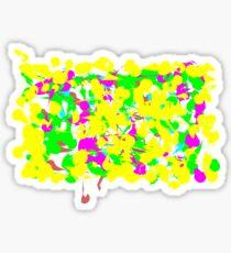 The multitude Sticker
