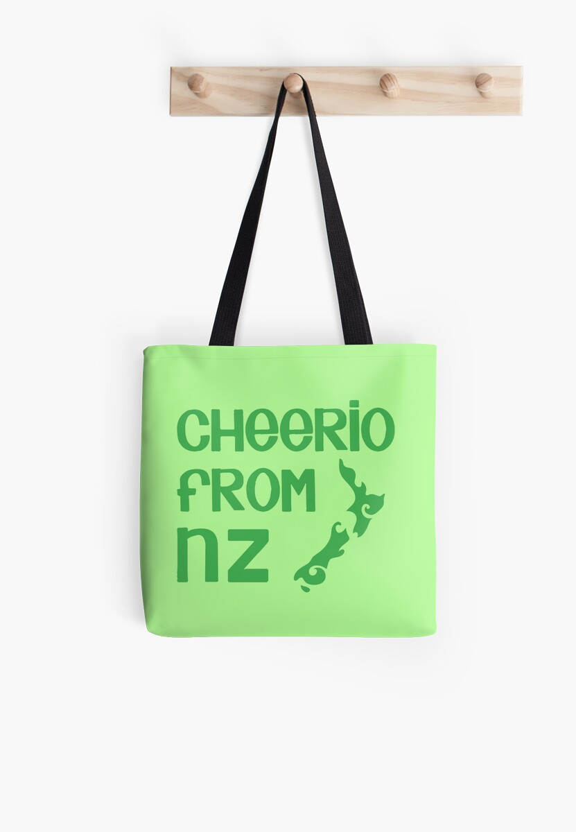 Cheerio from NZ (New Zealand cute kiwi saying) by jazzydevil
