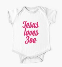 Jesus loves Zoe Kids Clothes