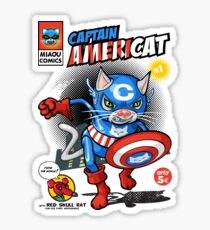 Captain Americat Sticker