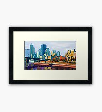 GTA IV Cityscape, Late Afternoon Framed Print