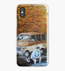 Living in a Van Down by the River iPhone Case/Skin