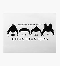 Ghostbusters W&B Photographic Print