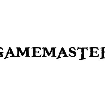 Gamemaster Tabletop RPG von TheShirtYurt