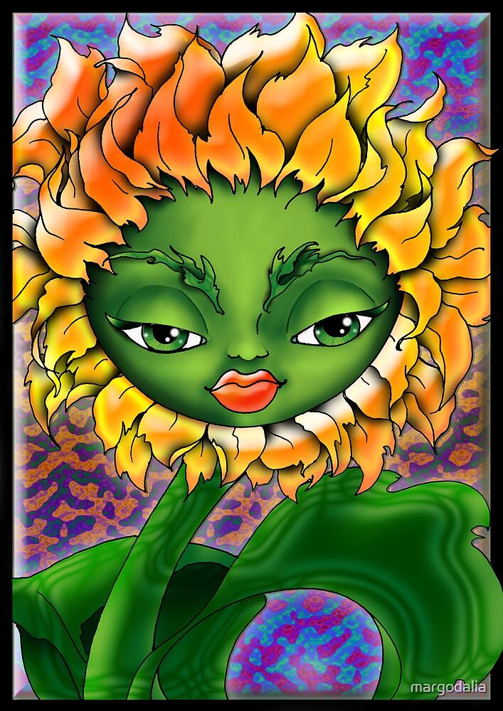 sunflower by margodalia