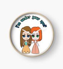 Willow & Tara - I'm Under Your Spell Clock