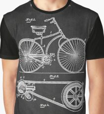 Bicycle Chalkboard Graphic T-Shirt