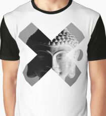 Buddha Portrait - Cool Spiritual Buddhism Spiritual Black And White Photo Design Graphic T-Shirt