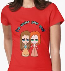 Willow & Tara - I'm Under Your Spell Womens Fitted T-Shirt