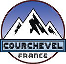 SKI COURCHEVEL FRANCE SKIING MOUNTAINS HIKING CLIMBING by MyHandmadeSigns