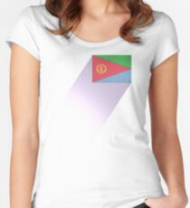Eritrea Women's Fitted Scoop T-Shirt