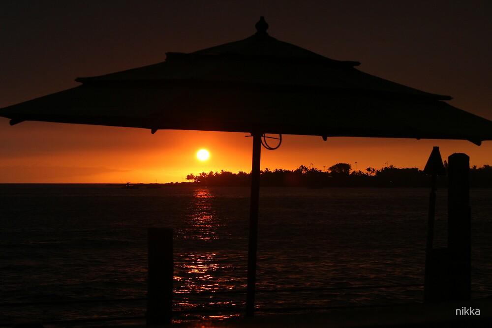 kona sunset by nikka