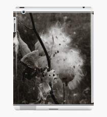 Milkweed Monochrome iPad Case/Skin