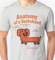 anatomy of a dachshund tshirts Unisex T-Shirt