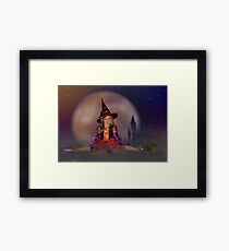 Witch's Night Out Framed Print