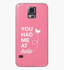 Funda/vinilo para Samsung Galaxy Me tenias en Hello