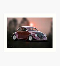 V6 Turbo Bug Art Print