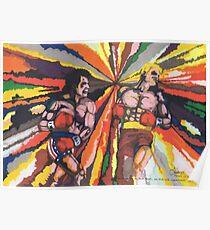 Rocky vs Drago Poster