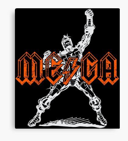 Mega Punk Robot (hump remix) Canvas Print