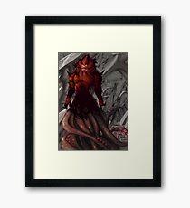 SILVERHAWKS MONSTAR Framed Print