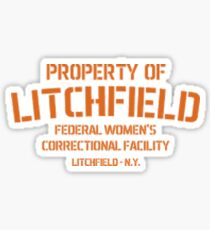 Property of Litchfield Sticker