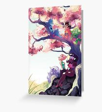 We are Crystal Gems Greeting Card