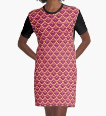 Chinese Paper Dragon by Julie  Everhart Graphic T-Shirt Dress