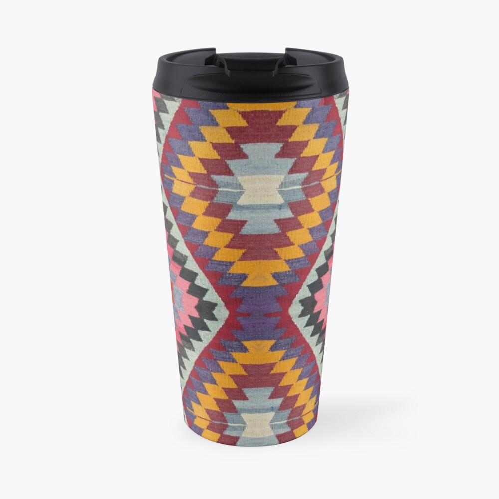 Turkish Kilim Travel Mug