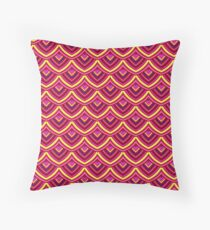 Chinese Paper Dragon by Julie  Everhart Throw Pillow