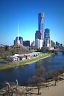 Yarra River - Melbourne by Christine Wilson