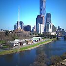 Yarra River - Melbourne by Christine Wilson