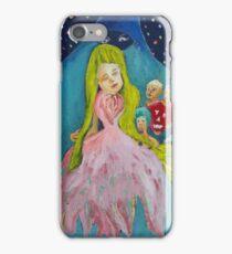 The gift. El regalo iPhone Case/Skin