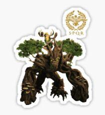 Smite - Sylvanus, Keeper of the Wild Gaming T-Shirt Sticker