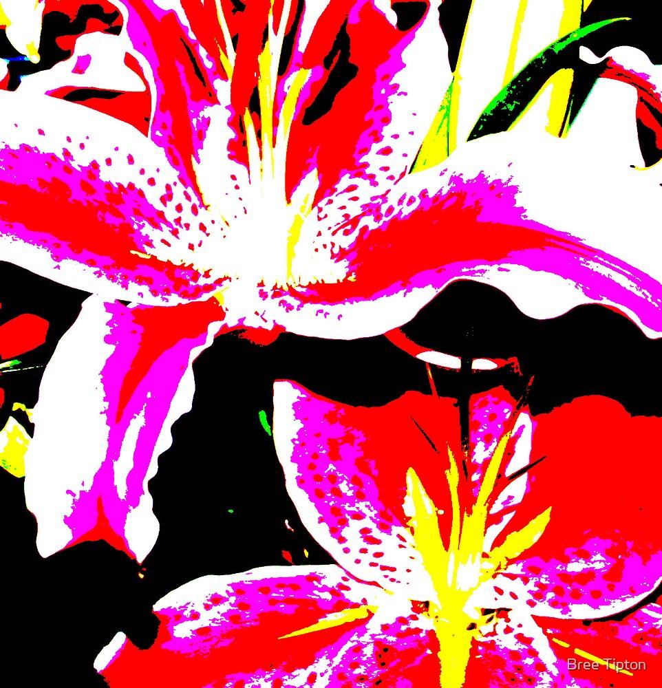 Neon Flower by Bree Tipton