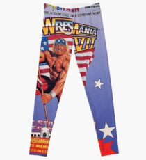 Wrestle Mania VII Leggings