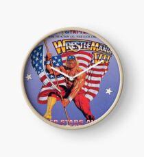 Wrestle Mania VII Clock
