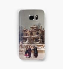 American Winter Scene Samsung Galaxy Case/Skin